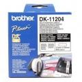 Papírový štítek Brother DK11204, 17mm bílý