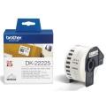 Páska do tiskárny Brother DK22225, 38mm černá/bílá