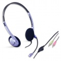 Headset Genius HS-02B - stříbrný