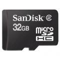 Paměťová karta Sandisk MicroSDHC 32 GB Class 4