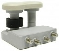 Konvertor LNB Mascom MonoBlock Quad, 4. účastníci / 2 družice