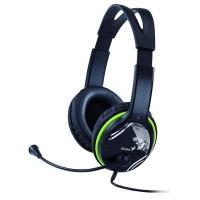 Headset Genius HS-400A - černý/zelený
