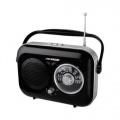 Radiopřijímač Hyundai PR 100 Retro, černá