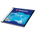 Disk Verbatim CD-R 700MB/80min, 52x, Extra Protection, slim, 200ks
