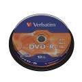 Disk Verbatim DVD-R 4,7GB, 16x, 10-cake