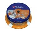 Disk Verbatim DVD-R 4.7GB, 16x, printable, 25-cake