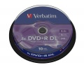 Disk Verbatim DVD+R DualLayer, 8.5GB, 8x, 10-cake
