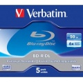 Disk Verbatim BD-R DualLayer 50GB, 6x, jewel, 5ks