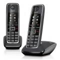 Domácí telefon Siemens Gigaset C530 Duo - černý