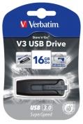 Flash USB Verbatim Store 'n' Go V3 16GB USB 3.0 - černý
