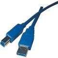 Kabel EMOS SB7702, USB 3.0 A/M - B/M 2M