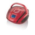 Radiopřijímač Hyundai TR 1088 SU3RB, MP3/USB/SD, červený/černý
