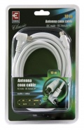 Kabel anténní Emos SB3110 - účastnická šňůra 10m
