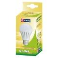 LED žárovka EMOS LED S LINE A60 5,5W E27 WW