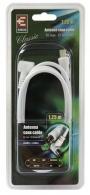 Kabel anténní Emos SB3101 - účastnická šňůra 1,25m