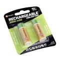 Baterie nabíjecí GoGEN AA, HR06 CHARGE 2000, 2000mAh, Ni-MH, blistr 2ks