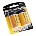 Baterie alkalická GoGEN D, LR20 ALKALINE 2, blistr 2ks