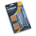 SET svítilna + baterie alkalická 16ks AAA, GoGEN LR03 ALK 16 LIGHT, blistr