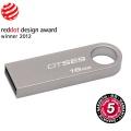 USB flash disk Kingston DataTraveler SE9 16GB USB 2.0 - stříbrný