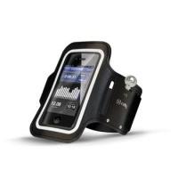 Pouzdro na mobil sportovní Celly ARM pro Galaxy S4 - černé