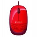 Myš Logitech USB Mouse M105 - červená