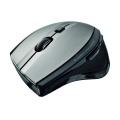 Myš Trust MaxTrack Wireless - černá/stříbrná