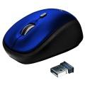 Myš Trust Yvi Wireless - modrá