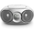 Radiopřijímač Philips AZ215S, stříbrný