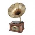 Gramofon s CD Hyundai RTCC 411 RIP RETRO, FM, vlašský ořech