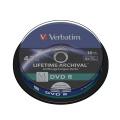 Disk Verbatim DVD-R M-Disc 4,7GB, 4x, printable, 10-cake