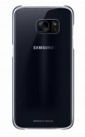 Kryt na mobil Samsung Clear Cover pro Galaxy S7 Edge (G935) - černý