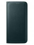 Pouzdro na mobil flipové Samsung pro Galaxy S6 Edge (EF-WG925P) - zelené
