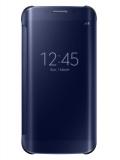 Pouzdro na mobil flipové Samsung Clear View pro Galaxy S6 Edge (EF-ZG925B) - černé