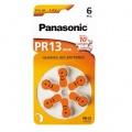 Baterie do naslouchadel Panasonic ZA13, blistr 6ks