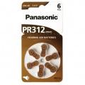 Baterie do naslouchadel Panasonic ZA312, blistr 6ks