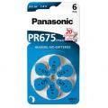 Baterie do naslouchadel Panasonic ZA675, blistr 6ks