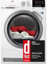 Sušička prádla AEG T8DBG68SC AbsoluteCare®