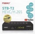 Set-top box Maxxo STB T2 + WI-FI adaptér