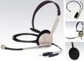 Headset Koss CS 95, s mikrofonem, k počítači