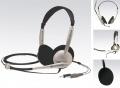 Sluchátka Koss CS 100, s mikrofonem, k počítači